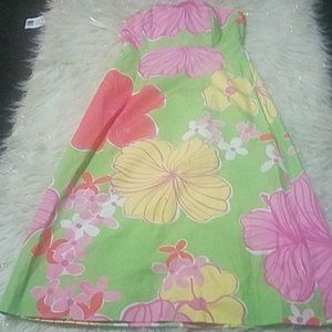 Lilly Pulitzer tie back dress